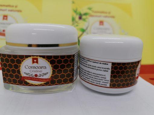 Crema naturala Antirid Noapte cu q10 si LM 2