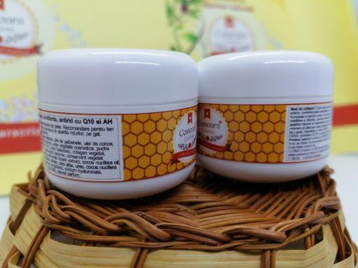 Crema naturala Antirid de zi cu Q10 si AH 2buc