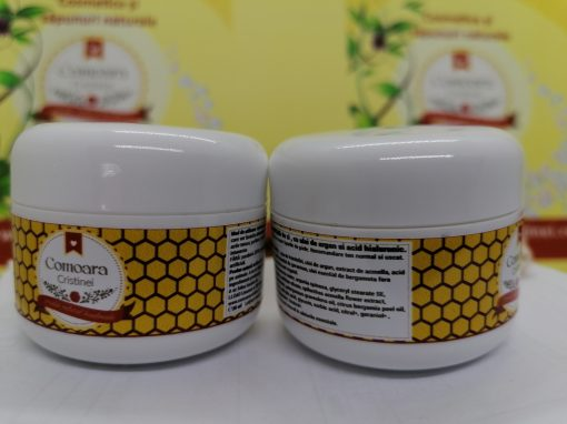 Crema naturala Antirid de zi cu argan si acid hialuronic 1