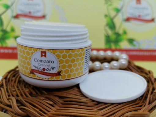 Crema naturala cu galbenele si LM zile reci 1