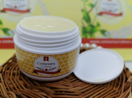 Crema naturala cu galbenele si LM zile reci 2