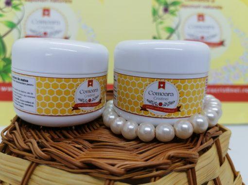 Crema naturala cu galbenele si LM zile reci 2 buc
