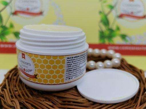 Crema naturala cu galbenele si LM zile reci