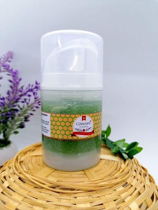 Gel aftershave cu aloe vera