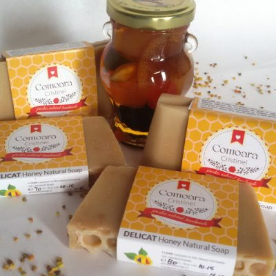 Sapun Natural DELICAT cu miere