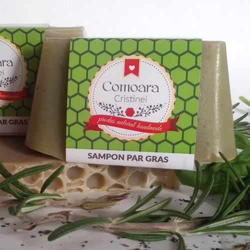Sapun Natural Sampon Par gras 1