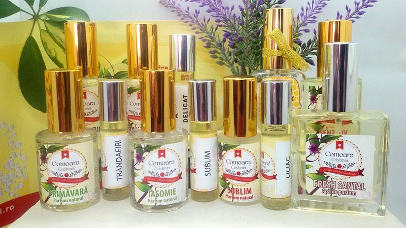parfurmuri naturale bio facute in casa comoara cristinei