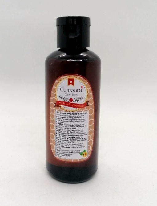 Ulei natural masaj Relaxant Lavanda