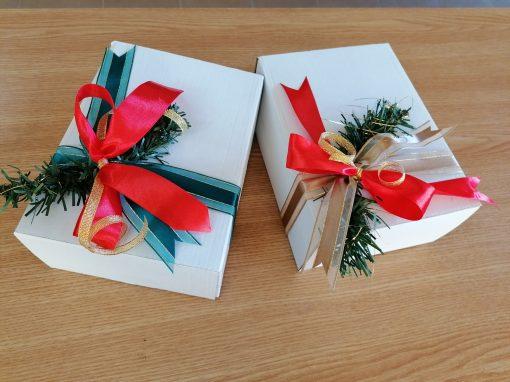 Cutii cu cadouri naturale Comoaracristinei