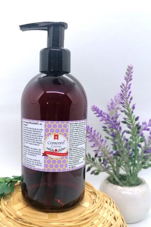 Ullei masaj NATURAL Relexant cu lavanda 250ml cadou 1 1
